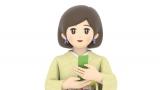 AI川柳ヨミ子、3月13日放送の『ニュースチェック11』(NHK)でデビュー予定。4月からは『シブ5時』に移籍(C)NHK