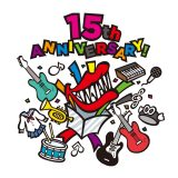 関ジャニ∞15周年 5大ドームツアー2019『十五祭』オフィシャルロゴ