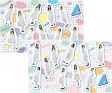 日向坂46メンバーの撮り下ろしビジュアルを使用したステッカー(2種)各700円(税別)