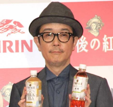 『キリン 午後の紅茶』新テレビCM発表会に出席したリリー・フランキー (C)ORICON NewS inc.