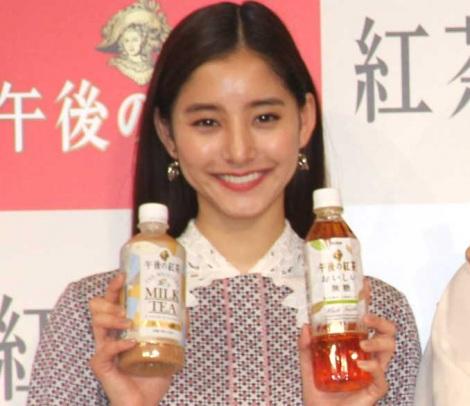 『キリン 午後の紅茶』新テレビCM発表会に出席した新木優子 (C)ORICON NewS inc.