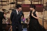『いだてん』で共演している中村獅童と綾瀬はるか=『RUN!HOPE!RUN! N響×大友良英×いだてんコンサート』3月31日、NHK・BSプレミアムで放送予定(C)NHK