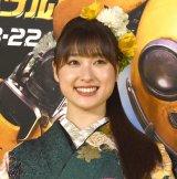 憧れの女優を前に英語であいさつした土屋太鳳 (C)ORICON NewS inc.