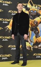 映画『バンブルビー』(22日公開)のイエローカーペットと舞台あいさつに登場したトラヴィス・ナイト監督 (C)ORICON NewS inc.