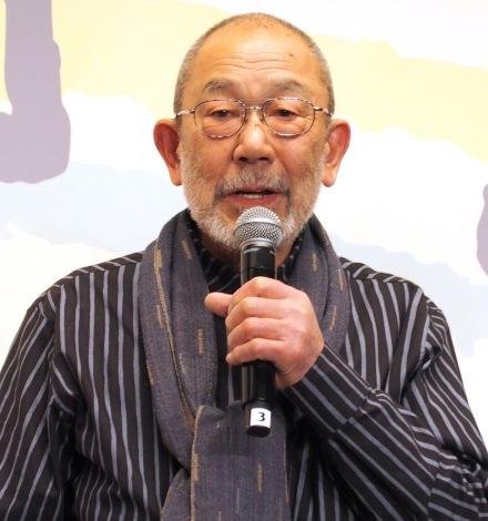 『やすらぎの刻〜道』の制作発表会見に出席した上條恒彦 (C)ORICON NewS inc.