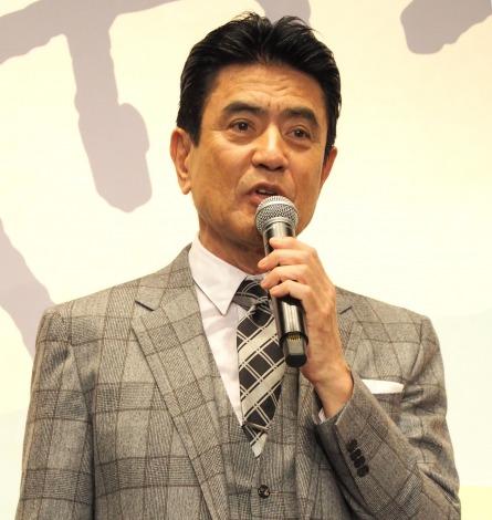 『やすらぎの刻〜道』の制作発表会見に出席した名高達男 (C)ORICON NewS inc.