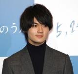 実写映画『小さな恋のうた』(5月24日公開)の完成報告記者会見した佐野勇斗 (C)ORICON NewS inc.