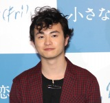 実写映画『小さな恋のうた』(5月24日公開)の完成報告記者会見した森永悠希 (C)ORICON NewS inc.