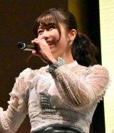 AKB48 55thシングル『ジワるDAYS』発売記念イベントに出席した横山由依 (C)ORICON NewS inc.