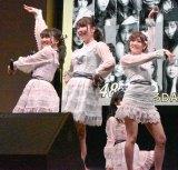 横山由依センターで「フライングゲット」=AKB48 55thシングル『ジワるDAYS』発売記念イベント (C)ORICON NewS inc.