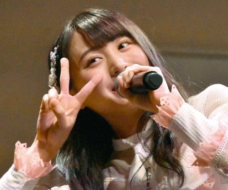 AKB48 55thシングル『ジワるDAYS』発売記念イベントに出席した坂口渚沙 (C)ORICON NewS inc.