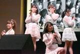 ニューシングル「10年桜」を6人で披露=AKB48 55thシングル『ジワるDAYS』発売記念イベント (C)ORICON NewS inc.