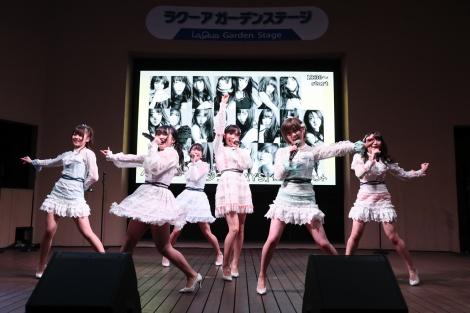AKB48 55thシングル『ジワるDAYS』発売記念イベント=東京ドームシティ ラクーアガーデンステージ(C)AKS