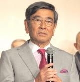 『やすらぎの刻〜道』の記者会見に出席した石坂浩二 (C)ORICON NewS inc.