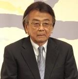 『やすらぎの刻〜道』の記者会見に出席した山本圭 (C)ORICON NewS inc.