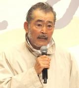 『やすらぎの刻〜道』の記者会見に出席した藤竜也 (C)ORICON NewS inc.