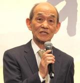『やすらぎの刻〜道』の記者会見に出席した笹野高史 (C)ORICON NewS inc.
