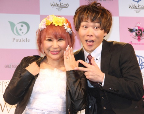 サムネイル 結婚を発表した浜田ブリトニー(左)と夫の岩見透 (C)ORICON NewS inc.