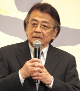 『やすらぎの刻〜道』の制作発表会見に出席した山本圭 (C)ORICON NewS inc.