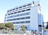 ピエール瀧容疑者が移送されていた東京湾岸署 (C)ORICON NewS inc.