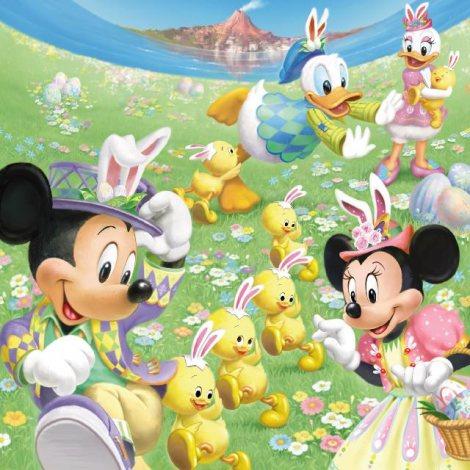 """サムネイル 東京ディズニーシーの『ディズニー・イースター』で""""うさピヨ""""が大活躍(C)Disney"""