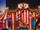大阪を拠点に活動するハッピードリームサーカスのパフォーマンスでイベントはスタート=ディズニー映画『ダンボ』ジャパンプレミア (C)ORICON NewS inc.