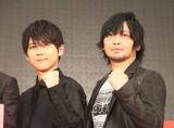 『PSYCHO-PASS』愛を熱弁した(左から)梶裕貴、中村悠一 (C)ORICON NewS inc.