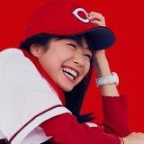 全身カープの高田夏帆「大航海」配信用ジャケット写真