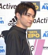 『SPORTS DEPO・ALPEN 春の大感謝祭!「adidas #GoActive」キャンペーンWEB CM発表会』に参加したSKY-HI (C)ORICON NewS inc.
