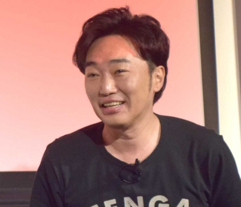 『TENGA TRADE TALKS 2019』記者発表会に出席した小沢一敬 (C)ORICON NewS inc.