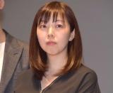 映画『Bの戦場』初日舞台あいさつに登壇した並木道子監督 (C)ORICON NewS inc.