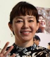 『まく子』公開記念舞台あいさつに出席した須藤理彩 (C)ORICON NewS inc.