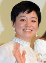 『まく子』公開記念舞台あいさつに出席した鶴岡慧子監督 (C)ORICON NewS inc.