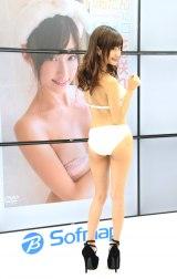 """1stDVD『れあたんにメロメロ』の発売記念イベントを行った""""現役歯科助手""""モデル・花咲れあ (C)ORICON NewS inc."""