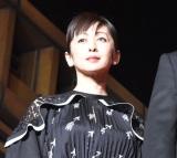 映画『フォルトゥナの瞳』レッドカーペットイベントに出席した斉藤由貴 (C)ORICON NewS inc.