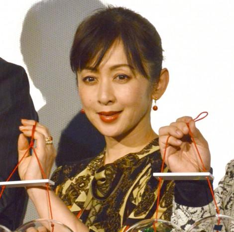 映画『フォルトゥナの瞳』初日舞台あいさつに登壇した斉藤由貴 (C)ORICON NewS inc.