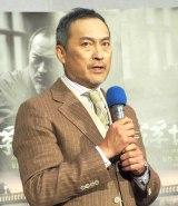 NHK 8Kスペシャルドラマ『浮世の画家』の試写会に出席した渡辺謙 (C)ORICON NewS inc.