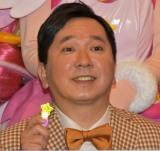 『映画プリキュアミラクルユニバース』公開初日舞台あいさつに参加した田中裕二 (C)ORICON NewS inc.
