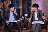 メンバーの成長過程をスタジオで見守るMCの小籔一豊&藤本敏史