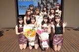 ふわふわが新曲リリースイベントで中学・高校卒業メンバーを祝福