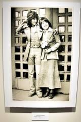 希林さん30歳のとき…結婚式であつらえた衣装を着用し築地本願寺にて (C)ORICON NewS inc.
