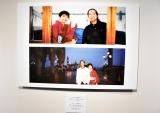 94年夫・内田裕也さんとの2ショット=『樹木希林 遊びをせんとや生まれけむ展』より (C)ORICON NewS inc.