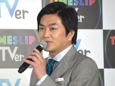 『タイムスリップTVer』キャンペーンPR発表会に出席した平成ノブシコブシ・徳井健太 (C)ORICON NewS inc.