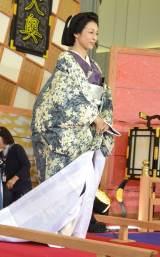 開局60周年特別企画『大奥 最終章』記者会見に出席した鈴木保奈美 (C)ORICON NewS inc.