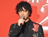 映画『麻雀放浪記2020』の完成報告ステージイベントに出席した斎藤工 (C)ORICON NewS inc.