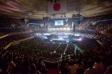 360度が観客席となった日本武道館には1万2000人が駆けつけた(C)ニッポン放送