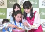 親子と一緒に料理 (C)ORICON NewS inc.