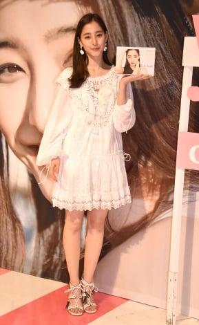 『新木優子First Fan Event!! −ゆんぴょ応援隊集まれ!−』を開催した新木優子 (C)ORICON NewS inc.