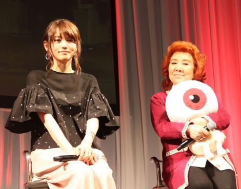 (左から)藤井ゆきよ、野沢雅子 (C)ORICON NewS inc.
