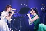 早見沙織(左)との美声コラボに涙するファンも Photo by ウチダアキヤ